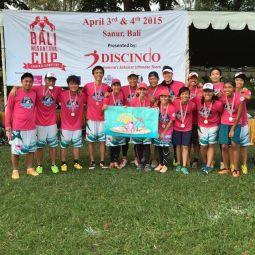 Carebears New TRIO Kits at Bali Nusantara Cup