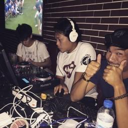 DJ Jing in Bangkok Hat Party