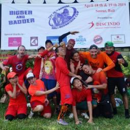 Team Masindo in Bali2014