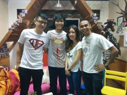 TRIO appearing on national tv; 8TV Quickie